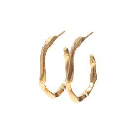 Joli Small Hoop Earrings_GOLD