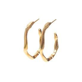 [선미,오연서,김선아 착용] Joli Small Hoop Earrings_GOLD