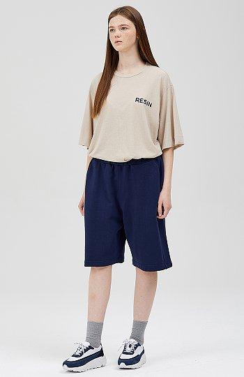 레터링 루즈핏 티셔츠