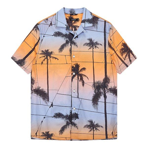 [Men] 데이비드 리조트 프린트 셔츠