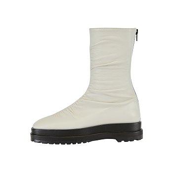 RM1-SH039 / Platform Wrinkle Boots