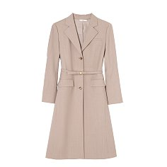 TAILORED BELTED LONG COAT