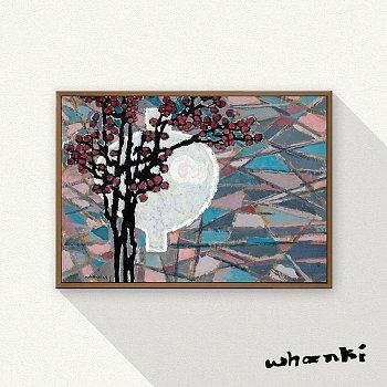 김환기, 항아리와 매화 / Jar & Prunus-Blossom