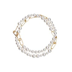TR Pearl Long Necklace_CREAM PEARL