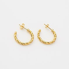 TWIST ROPE EARRINGS