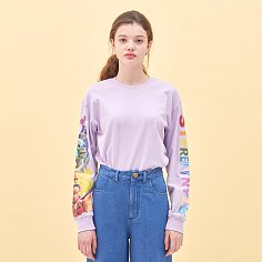 [SS20 SV X Sesame Street] Muffets Long Sleeve(Lavender)