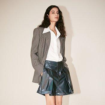 [김설희 착용][Fabric From PORTUGAL] GAU Loose Fit Jacket_Gray Check
