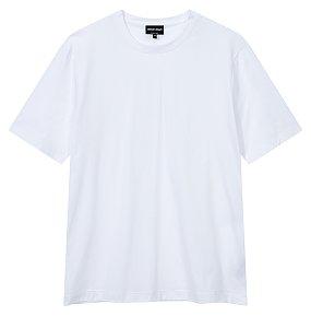베이직 숏 슬리브 코튼 티셔츠
