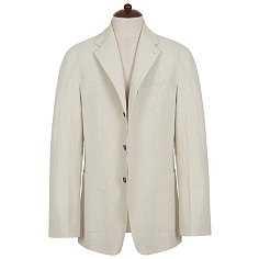 Washed Linen Jacket (Oatmeal)