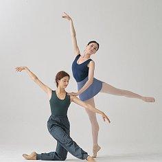 NAVY/DARK GREY REVERSIBLE DANCE LEOTARD