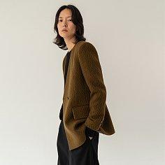 Classique jacquard jacket