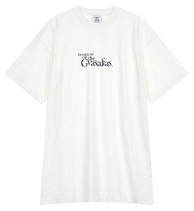 [Vetements] 레터링 와이드 티셔츠