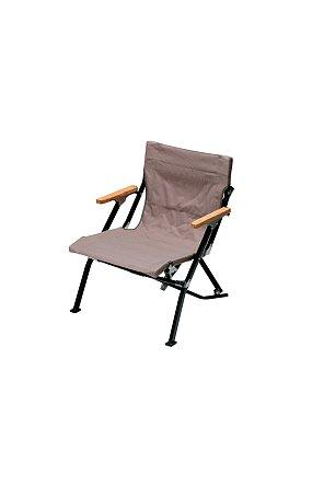 Luxury Low Beach Chair 스노우 피크 로우 체어 쇼트 그레이