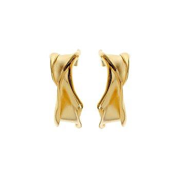 [차예련,한혜진,수영,문가영 착용] Flow Small Hoop Earrings_GOLD