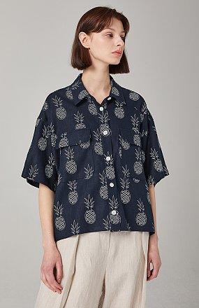 셋업 파인애플 셔츠