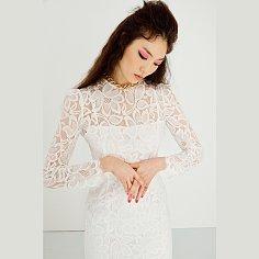 Classy Dress(WHITE)
