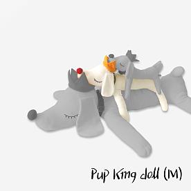 요시토모 나라, PUP KING - Medium