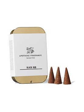 [Apotheke Fragrance] 인센스 콘 Black Oud
