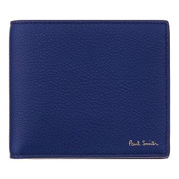 소프트 패턴 레더 폴드 지갑