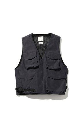 FR 3L Rain Vest 스노우피크 에프알 레인베스트 블랙