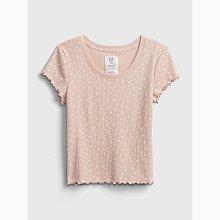★갭키즈 21년 SPRING★ [TEEN 여아 8-18세] 플라워 패턴 와플 조직 티셔츠