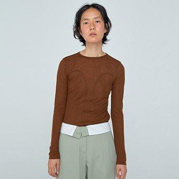 Domeline Stitch T / Brown