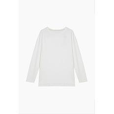 여 오가닉 코튼 베이직 티셔츠