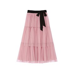 CAN-CAN TULLE SKIRT - PINK