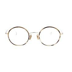 [ISSEY MIYAKE] 이세이 미야케 ROUND5 BRS 라운드5 브라운 콜렉트 안경