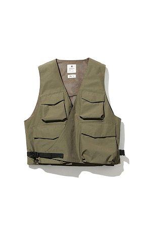 FR 3L Rain Vest 스노우피크 에프알 레인 베스트 올리브