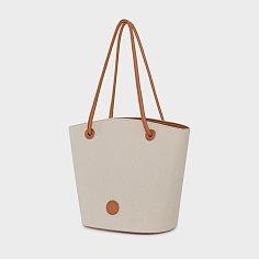 Marian bag_white canvas