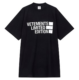 [Vetements] 빅로고 프린트 티셔츠 (남성)