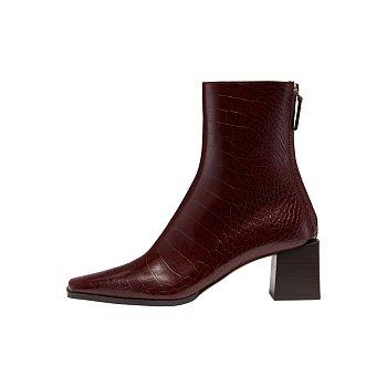 RL4-SH003 / Cube Heel Basic Boots