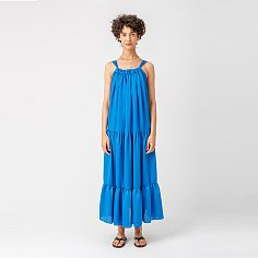 PAGE_Strap tiered dress_BLUE