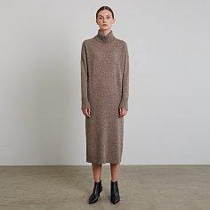 ELROY KNIT DRESS, STONE