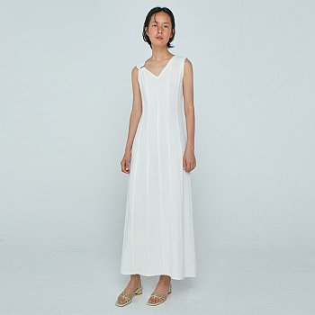 Panel Dress / Off White