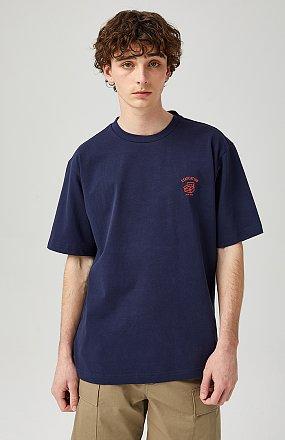 [MEN] 백프린트 레터링 티셔츠