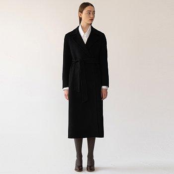 [FW20 ESSENTIAL] 캐시미어 Cashmere Handmade Coat Black