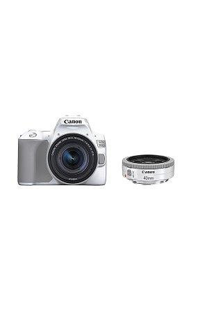 캐논 정품 DSLR 더블 렌즈킷 EOS 200D II 1855/40 KIT (White)