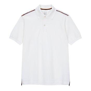 숄더 스트라이프 피케 폴로 셔츠