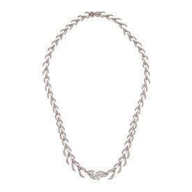 [ADDIR] 리프 다이아몬드 네크리스