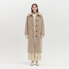 QUILA Faux Fur Coat - Beige
