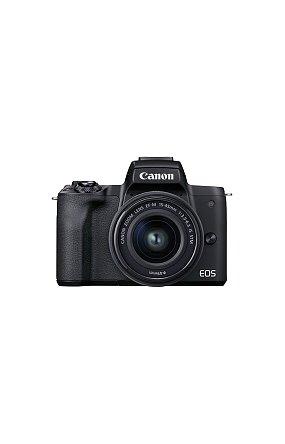 캐논 정품 미러리스 렌즈킷 EOS M50 Mark II (Black) 15-45 KIT