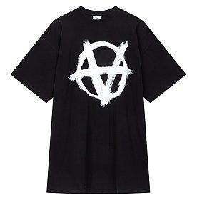 [Vetements] Anarchy gothic 티셔츠 (남성)