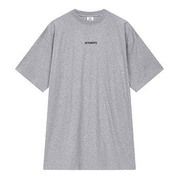 [Vetements] 센터 로고 티셔츠 (남성)