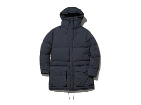 Recycled Ny Ripstop Down Coat 스노우피크 리싸이클 나일론 립스탑 코트 블랙