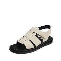 Bold Strap Sandals / D21S03-IV