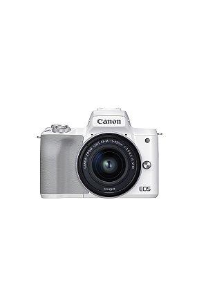 캐논 정품 미러리스 렌즈킷 EOS M50 Mark II (White) 15-45 KIT