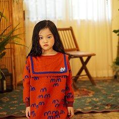 MM KNIT DRESS (BROWN)