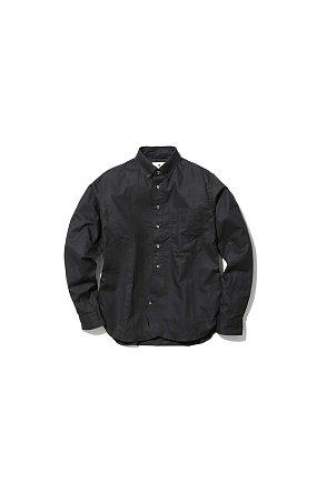 OG Cotton Poplin BD Shirt 스노우 피크 코튼 팝핀 BD 셔츠 블랙